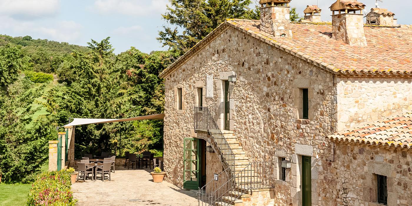 Una masia catalana que amaga